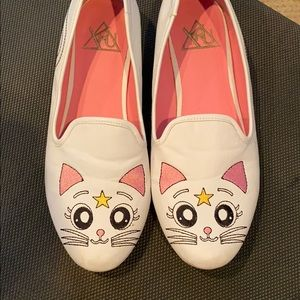 cat slip ins/loafers